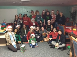 Spanish Club Gives Back Too . . .
