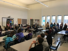 8th Graders Visited the HS on Friday