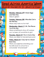 It's time to Seuss-ify for Read Across America Celebrations!