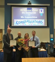 Dr. Ochterski & Ms. Lupacchino-Gilson honored