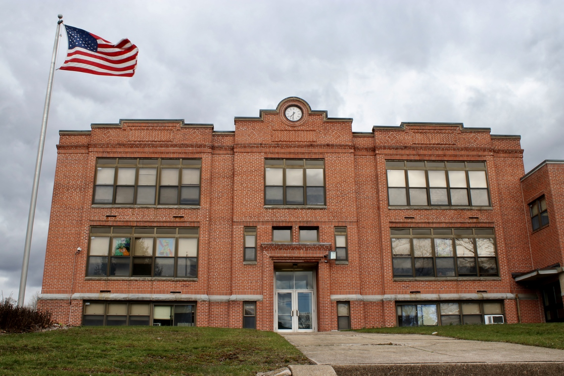 West Side of Center School