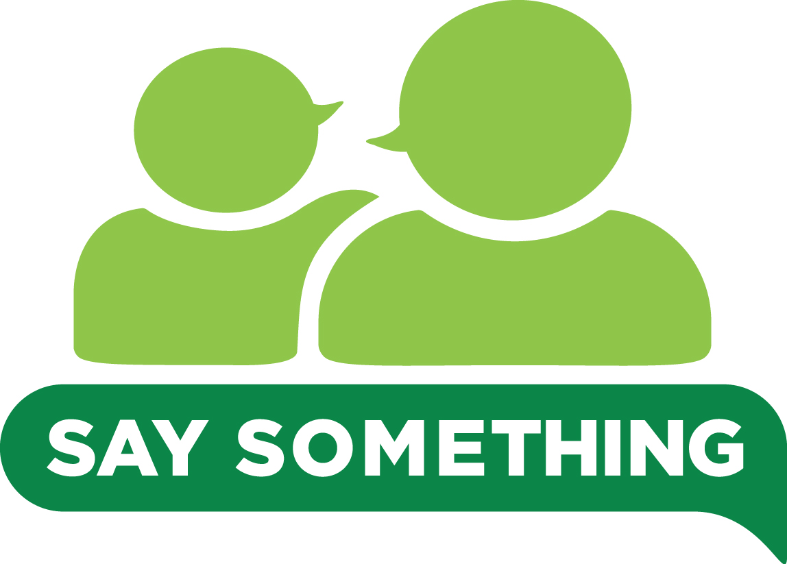 "October 24-28 is ""Say Something"" Week"